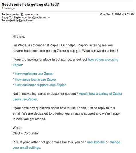 email ending onboarding emails exles ideas and best practices