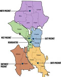 Seattle Police Crime Map by South Precinct Map Amp Boundaries South Seattle Crime