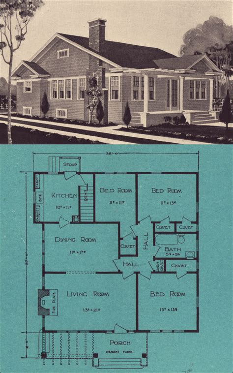 1920s bungalow floor plans 1920s bungalow cottage stetson post seattle house