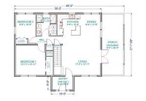Tlc cabin has 1 064 square feet on the main floor with a 285 square