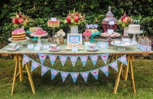 Items and supplies used in this mother s day afternoon tea party