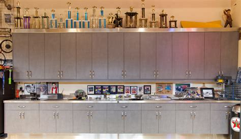 kitchen cabinets in garage garage modern garage and shed vancouver by