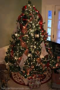 Christmas Trees Decorated With Ribbon » Home Design 2017