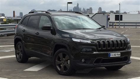 jeep cherokee blacked jeep cherokee 75th anniversary edition 2016 review road