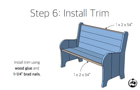 church pew woodworking plans how to build a church pew free diy plans rogue engineer