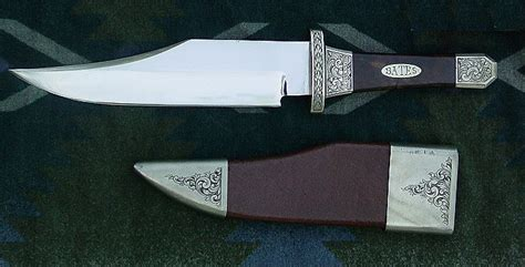 Pisau Berburu file coffin handle bowie knife jpg wikimedia commons