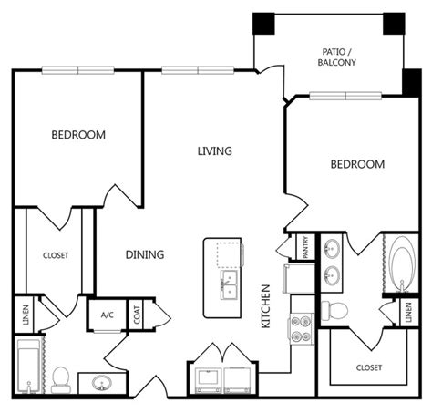 anatole floor plan anatole at norman rentals norman ok apartments