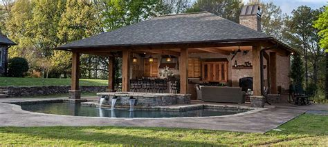 backyard living pools backyard living areas with pools outdoor living spaces