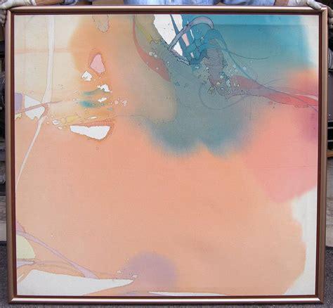 nanci blair closson quot peach melba quot original abstract acrylic painting make offer ebay