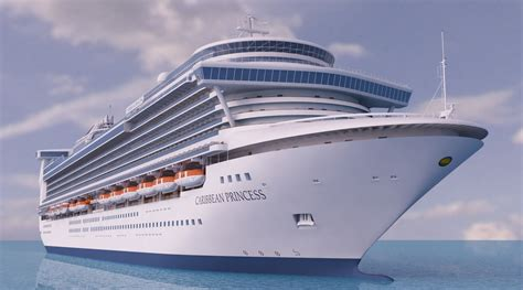 caribbean by cruise ship 8th edition the complete guide to cruising the caribbean cruise guides books cruise ship caribbean princess 3d model