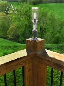 deck lamp beer bottle plumbing pipe amp fitting deck light