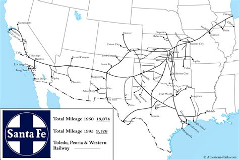 where is santa fe on the map brief history of us railroads hubpages