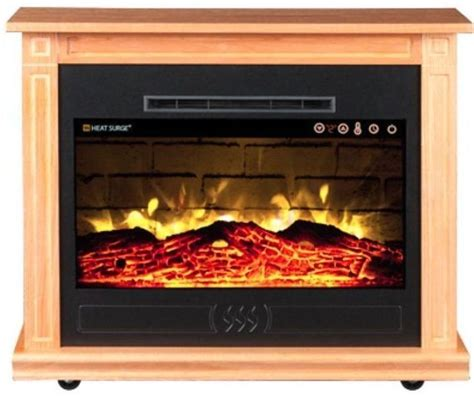 Roll N Glow Fireplace by Heat Surge Roll N Glow Ev5 Amish Electric Fireplace
