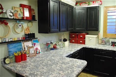 Decoupage Countertops - crafters guru decoupaged counter tops