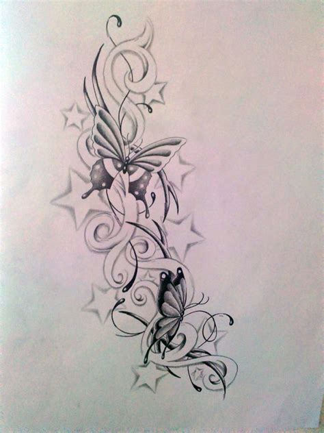 tattoos of roses and stars flowers and tattoos designs www imgkid the