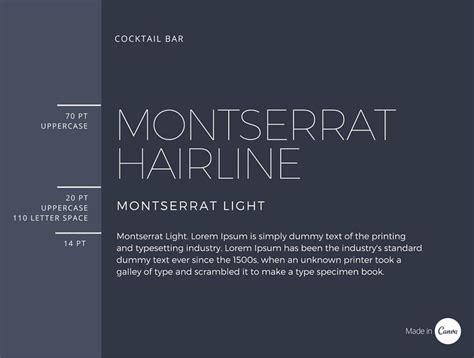 17 best ideas about montserrat font on font
