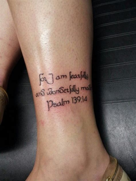 i am fearfully and wonderfully made tattoo 54 best images about tattoos on proverbs