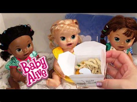 Boneka Baby Alive Snack Snackin Noodles Doll baby alive snackin playdoh doll noodles food and bottle