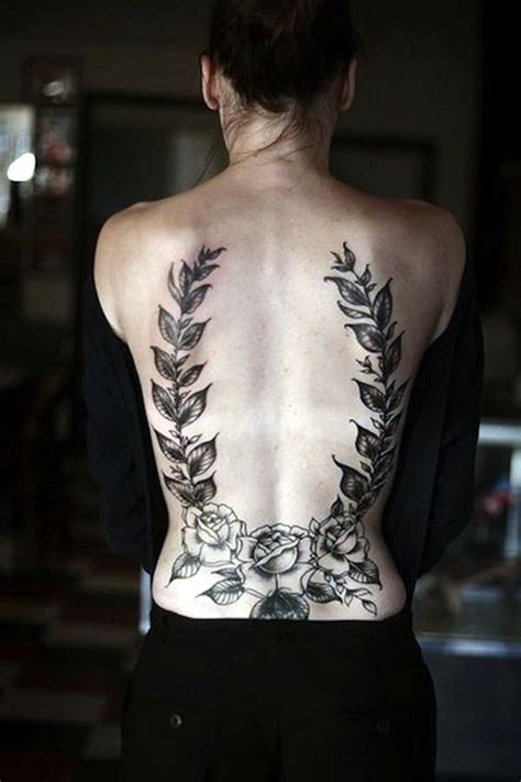 tattoo back side woman 25 best places to get tattoos on your body