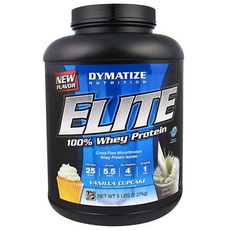 Whey Protein Elite dymatize nutrition elite whey protein isolate nutrition ftempo