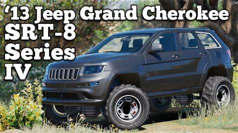 jeep grand srt modified gta v pc mods 2013 jeep grand srt 8 series iv