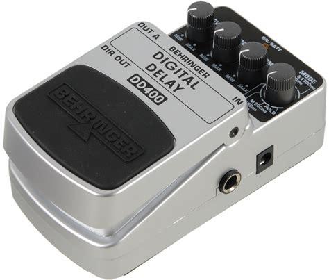 Dd 5dd5 Digital Delay Effect Pedal behringer dd 400 digital delay guitar effect pedal