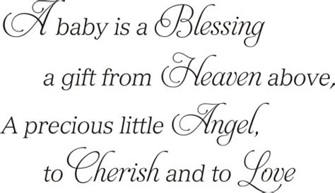 gift from heaven baby quote baby baby boy baby a baby is a blessing a gift from heaven above quote the