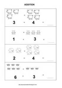 coloring pages addition worksheets for kindergarten