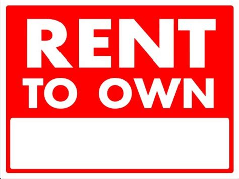 rent to own and lease options how to get paid as a real