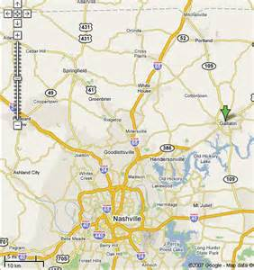 Google Maps Tennessee by Nashville Tn Maps Google