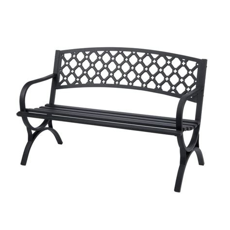 park bench hardware park benches garden storage outdoor benches at ace