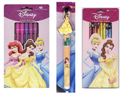 My Style Princess Tm8298 Coloured Pencil Set disney consumer products princess style guide on wacom gallery