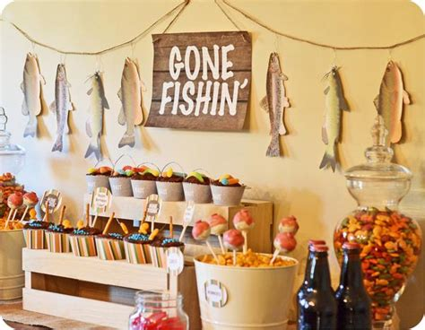 fishing boat party ideas kara s party ideas gone fishin fisherman boy birthday