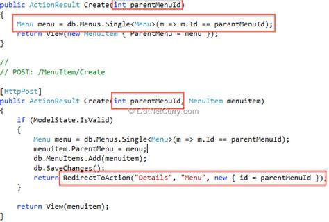 design menu in asp net menuitem
