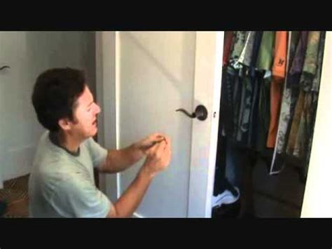 how to unlock a bedroom or bathroom door