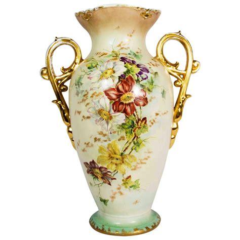 Vintage Porcelain Vases by Antique Porcelain Decorative Vase With Handle At 1stdibs