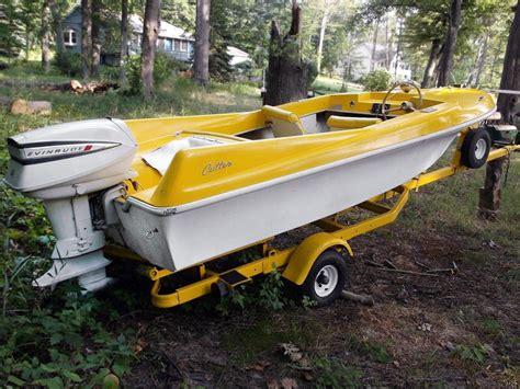 the boat on 1960 wave cutter 1960s cutter jet de ville speedboat