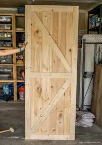 Make A Barn Door Diy Barn Door Plans
