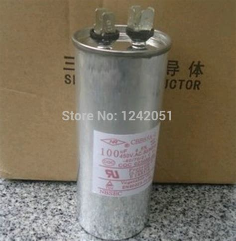 start capacitor on air conditioner aliexpress buy ac motor capacitor air conditioner compressor start capacitor cbb65 450vac