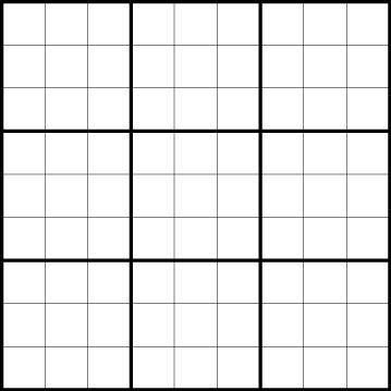 html   Styling a sudoku grid   Stack Overflow