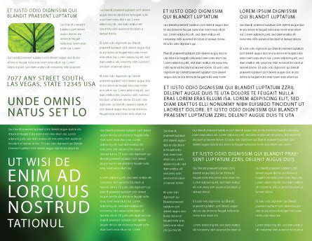 helping nature brochure template design and layout helping nature brochure template design and layout