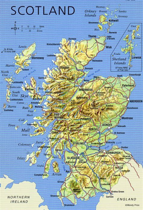 Detailed Search Detailed Map Of Scotland Search Engine At Search