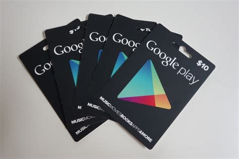 Google Play Electronic Gift Card - google play gift card a cosa servono e come utilizzarle