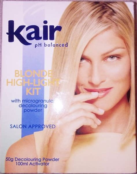 highlighting hair kits hair colourants dyes brand new kair highlighting kit
