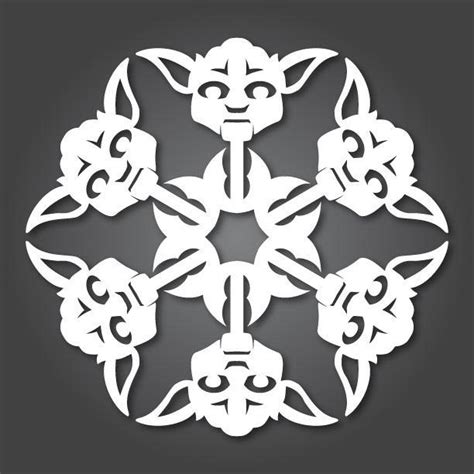 How To Make Awesome Paper Snowflakes - ten awesome snowflake templates lemons and laughs