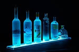 lighted bar shelves led bar display omgcoolgadgets