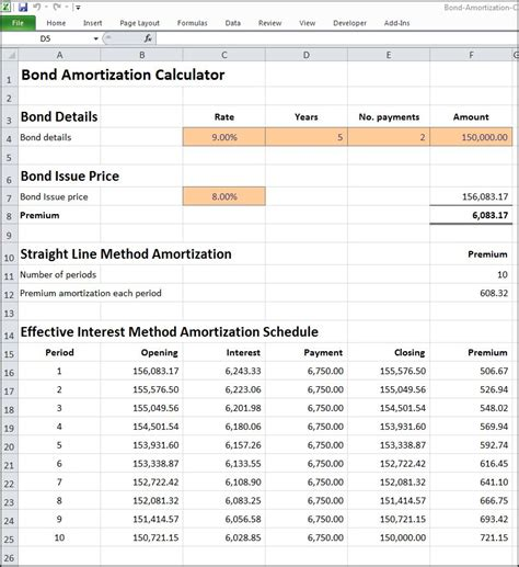 Amortization Table Calculator by Amortization Chart Excel Loan Amortization Schedule In