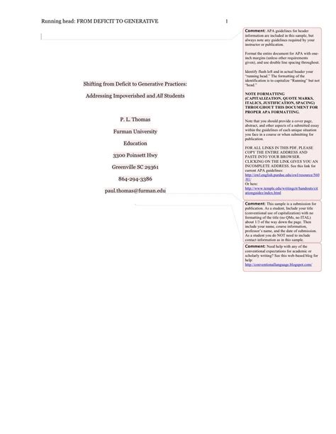 8 apa format example paper a cover letters