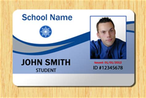 Pvc Id Card Template by Student Id Template 2 Other Files Patterns And Templates
