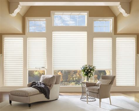 Hunter Douglas east or west facing windows these window coverings will